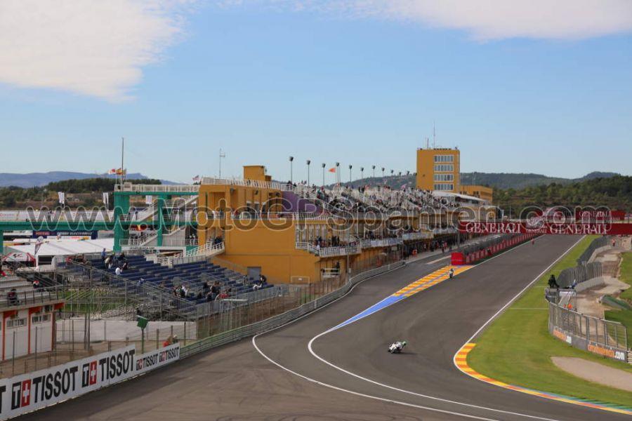 Circuito Aragon : Tribüne boxes motogp valencia spanien